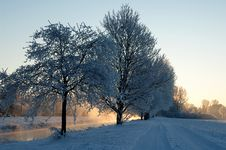 Free Winter Morning 5 Stock Photos - 7764893