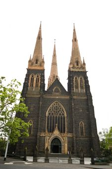 Free St. Patrick's Cathedral, Australia Stock Photography - 7765032