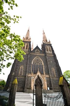 Free St. Patrick's Cathedral, Australia Royalty Free Stock Photo - 7765055