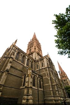 Free St. Patrick's Cathedral, Australia Stock Image - 7765261