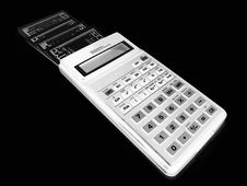 Free Calculator Royalty Free Stock Images - 7765449
