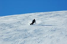 Free Skiing In The Davos Royalty Free Stock Image - 7765736