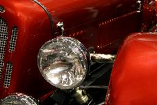 Free Vintage Car Headlight Stock Images - 7766674