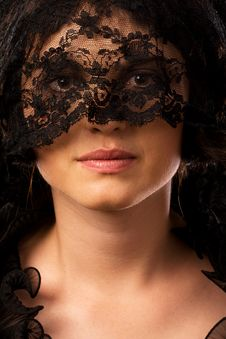 Free Young Attractive Woman In Mourning Royalty Free Stock Photography - 7767057