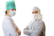 Free Two Young Doctors Royalty Free Stock Image - 7767186