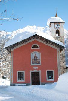 Free Alpine Church Stock Photography - 7767532