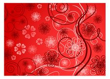 Free Flowers In Red Royalty Free Stock Photography - 7767937