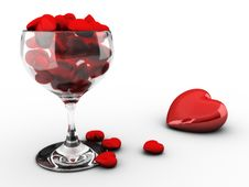 Free Hearts Cup Stock Images - 7768984