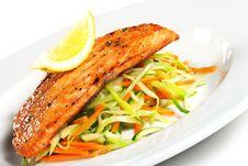 Free Fillet Of Salmon Royalty Free Stock Photos - 7769668