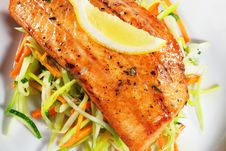 Free Fillet Of Salmon Royalty Free Stock Photos - 7769768