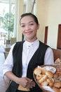 Free Waitress At Work Stock Photos - 7773803