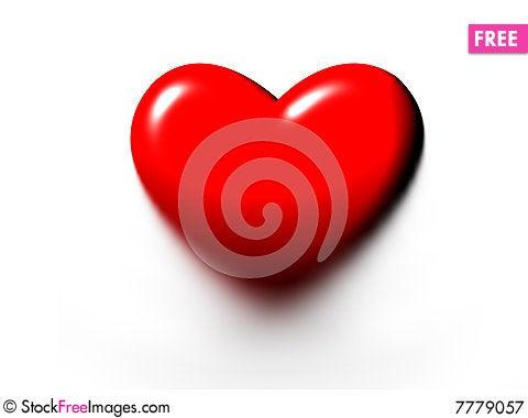 Free Melting Heart Royalty Free Stock Photography - 7779057