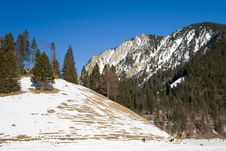 Free Winter Mountain Landscape Royalty Free Stock Image - 7770116