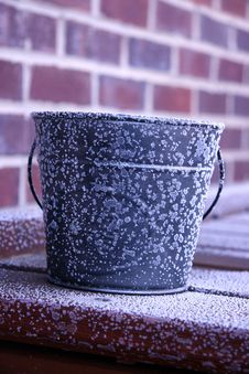 Free Frosted Bucket Stock Images - 7770314