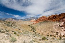 Red Rock Canyon Valley Stock Photography