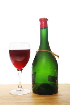 Free Red Wine And Bottle Stock Photos - 7770783