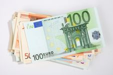 Free Packet Of Banknotes - Save Money. Stock Image - 7770961
