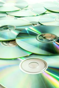 CD (DVD) Disks Royalty Free Stock Photos