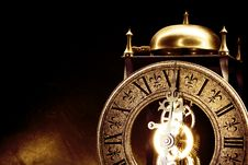 Free Antique Clock Royalty Free Stock Photography - 7771267