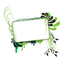 Free Flower Frame 04 Stock Photography - 7771422