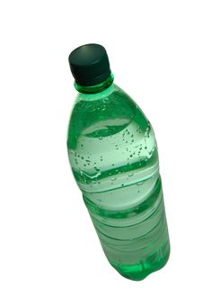 Free Green Water Bottle Royalty Free Stock Images - 7771439