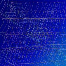 Free Wire-frame Abstract Royalty Free Stock Photography - 7771577