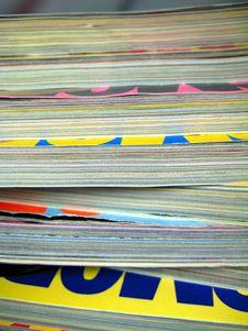 Free Magazines Royalty Free Stock Photos - 7771628