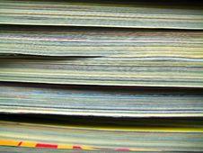 Free Magazines Stock Images - 7771734