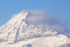 Mountains In Clouds No.6 Royalty Free Stock Photo