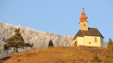 Free Church On A Hill No.1 Royalty Free Stock Photo - 7771785