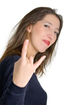 Free Modern And Popular Gesture Stock Images - 7771934