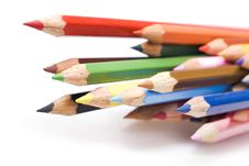 Free Color Pencils Royalty Free Stock Photo - 7772345