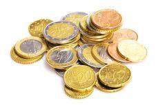 Free Euro Coins Royalty Free Stock Photos - 7772348