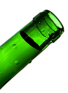 Free Neck Of A Bottle Stock Image - 7772511