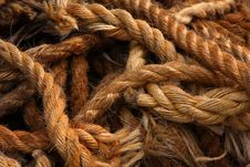 Free Ship Rope Royalty Free Stock Image - 7772616
