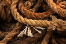 Free Ship Rope Royalty Free Stock Photos - 7772618