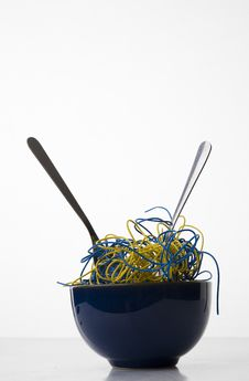 Free Cyber Noodles Stock Photography - 7772662