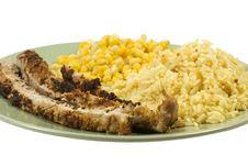 Free Pork Rice And Corn Stock Photos - 7773613