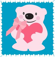 Free Valentine Bear Royalty Free Stock Images - 7773749