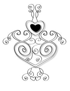 Free Heart Design Royalty Free Stock Photos - 7774728