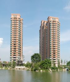Free Apartment Block Royalty Free Stock Images - 7775089