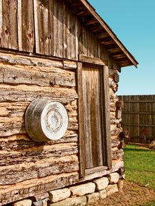 Free Log Cabin Royalty Free Stock Image - 7775246