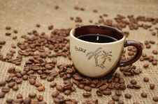 Free Cup With Coffee Stock Photos - 7776943