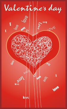 Free Valentine S Card Royalty Free Stock Photos - 7776968