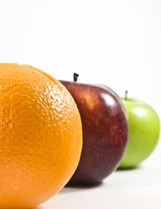 Free Colorful Juicy Fruits In A Row Stock Photo - 7777060