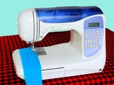 Free Sewing Machine Stock Images - 7777104