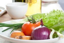 Free Fresh Vegetables Royalty Free Stock Images - 7777209