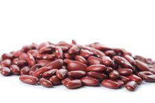 Free Red Haricot Beans Isolated Stock Photos - 7777753