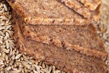Free Wholegrain Bread And Rye Grains Stock Photo - 7778740