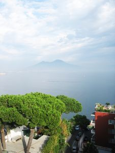 Free Gulf Of Naples And Volcano Vesuvius Royalty Free Stock Images - 7778779